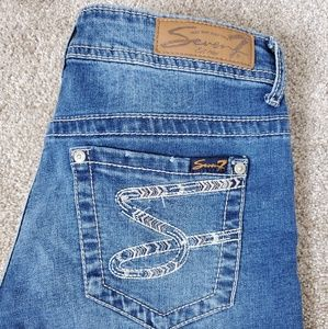 7 for all mankind Jean shorts S pocket